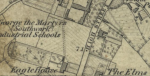 1865 Map of The Elms