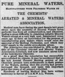 18950322 Pure Mineral Waters