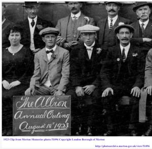 1923 Clip from Merton Memories photo 51096 Copyright London Borough of Merton