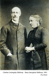 Charles Coningsby Sibthorp and Mary Georginia Sibthorp