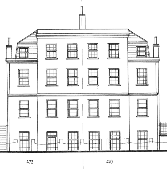 005 470 472 London Road drawing