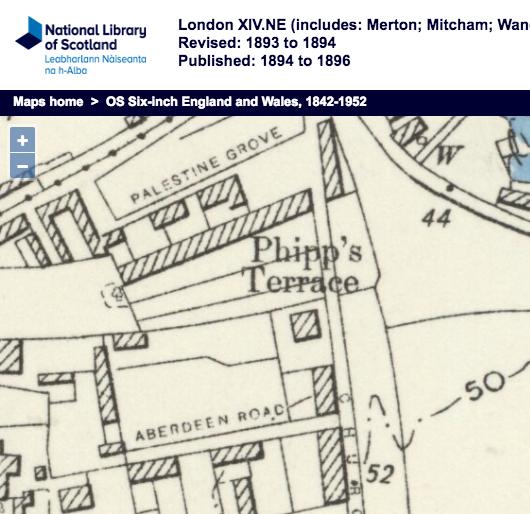 1893 OS map