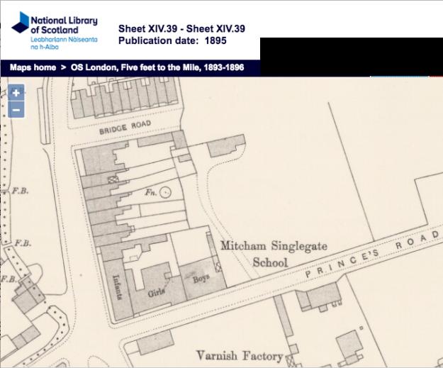 1895 OS Map