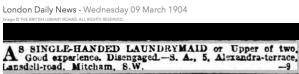 19040309 Lansdell Road ad