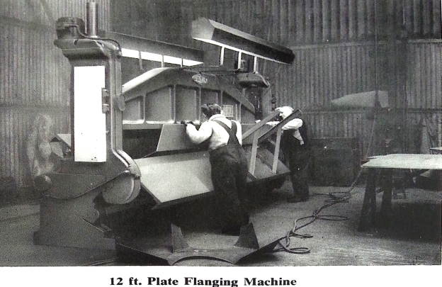 Plate Flanging Machine