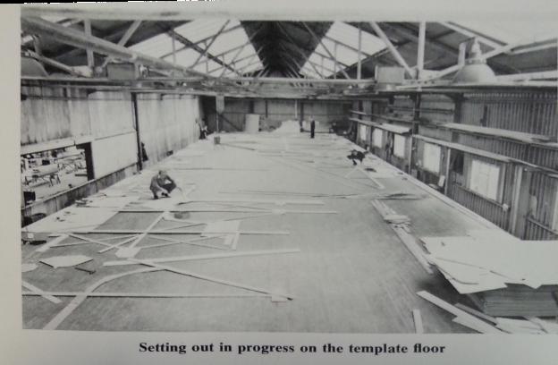 Template floor