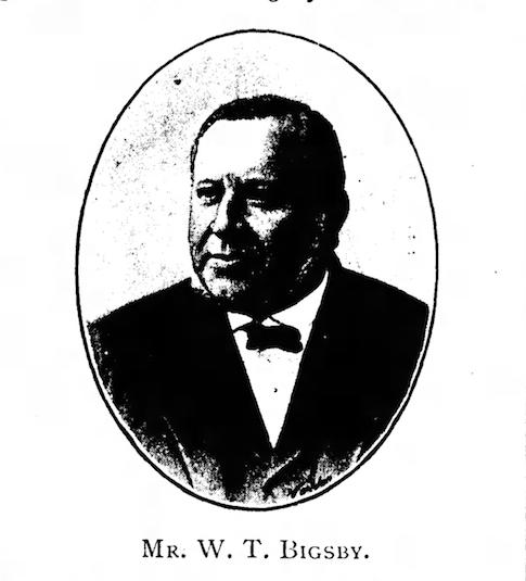 1891 WT Bigsby photo