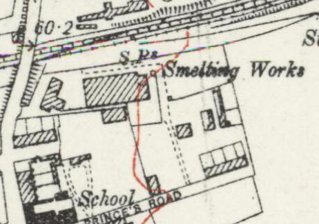 1914 Ordnance Survey map