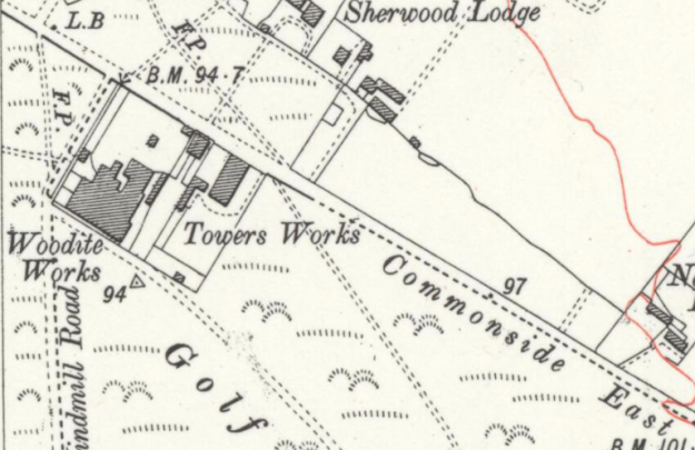 1914 OS map