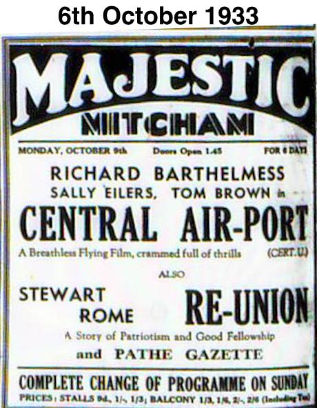 8th October 1933