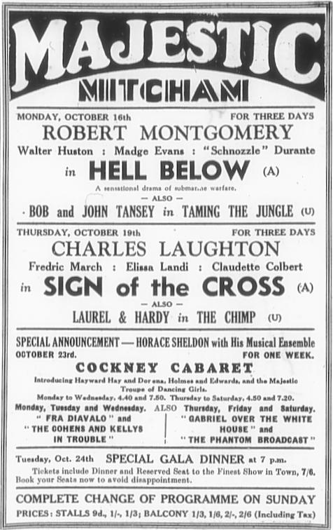 13th October, 1933