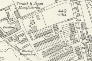 1910 map