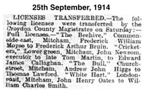 19140925 Licenses Transferred