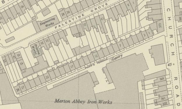1950 map