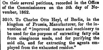 18621105 Heyl patent