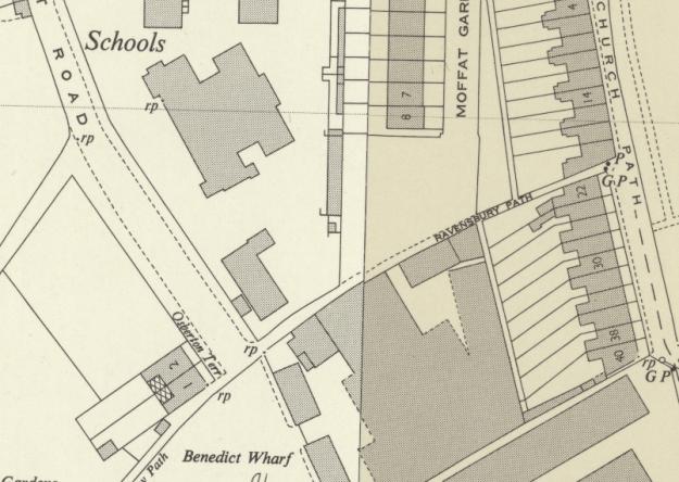 1947 OS map