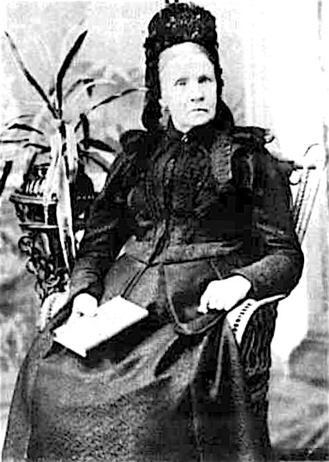 Mary Ann Slater nee Cresswell