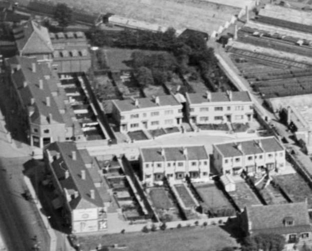 1937 aerial Lansdowne Estate