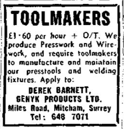 19770211 wireworks job ad