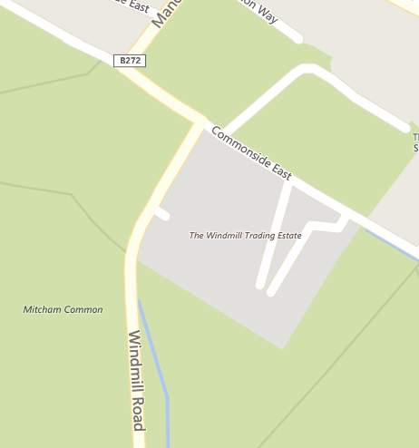 windmill Trading Estate Map