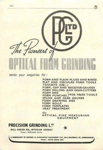 Precision Grinding Mill Grn Rd Mitcham