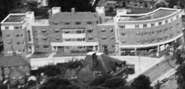 1937 aerial Bramcote Court