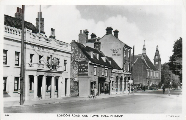 A Tuck Postcard believed to have been taken in 1950