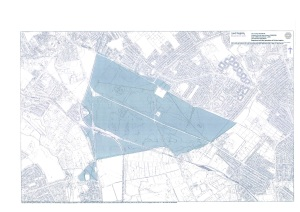 Mitcham Common - registered land map