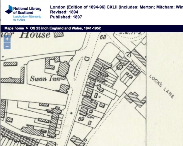 1894 OS Map