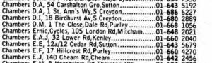 1972 phone book