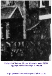Undated - Clip from Merton Memories photo 29230 Copyright London Borough of Merton