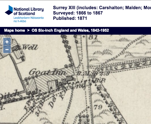 1866 OS Map