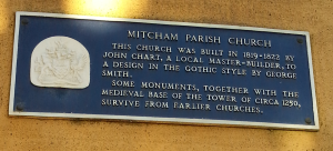 Parish Church Blue Plaque
