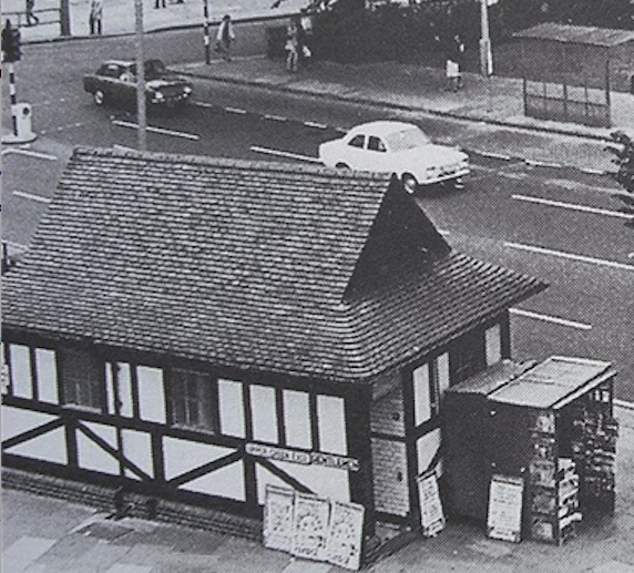 Photo possibly taken in the 1950s