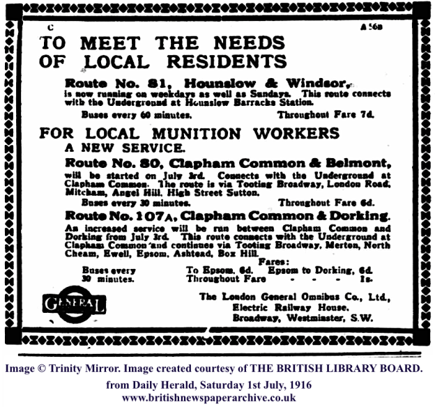19160701 Bus service for munition workers