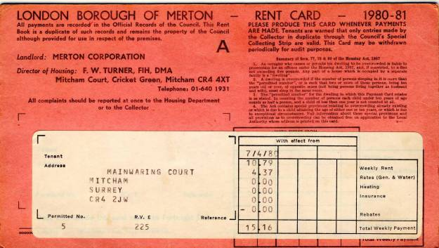 1980 rent card