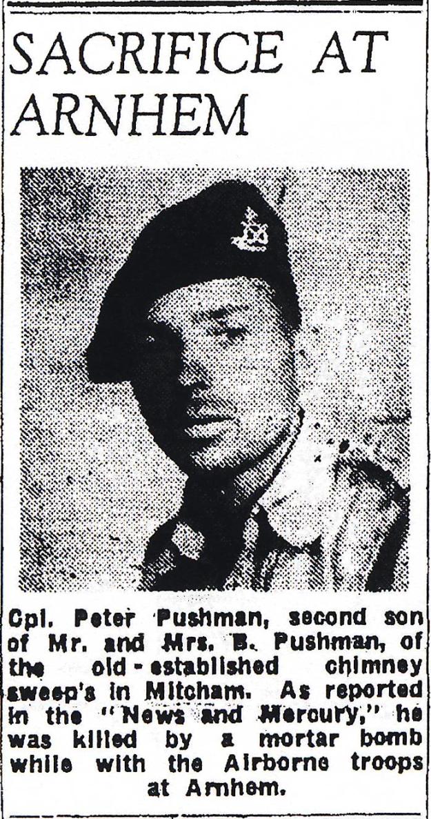 1944 November 17 Pushman death