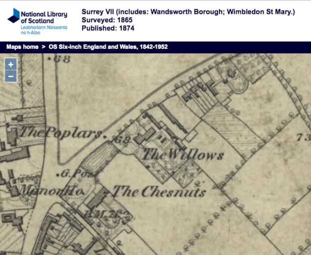 1865 OS map