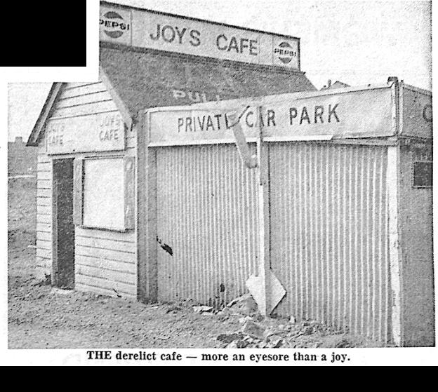 """""""THE derelict cafe - more an eyesore than a joy"""""""