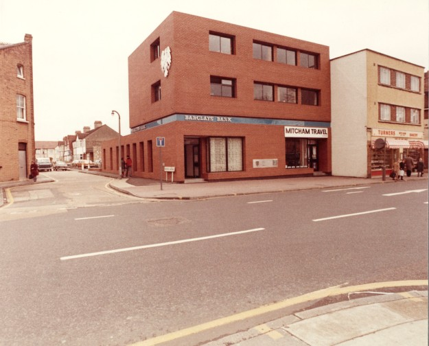 29/31 Upper Green East. Photo courtesy of Barclays Group Archives