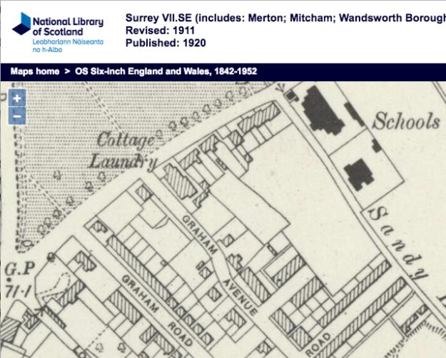 1911 OS Map