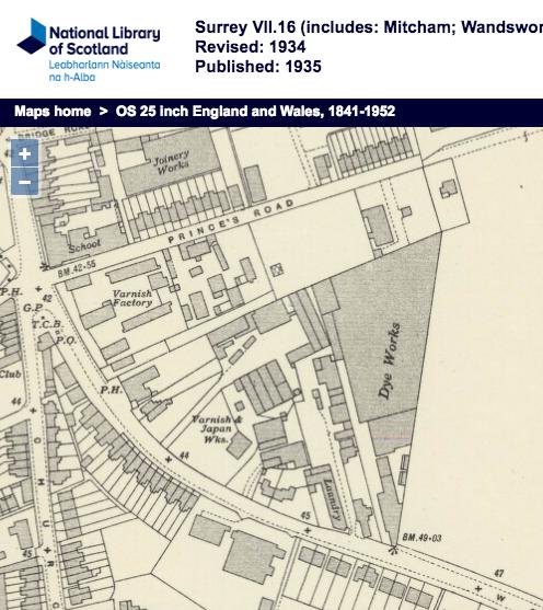 1934 OS Map