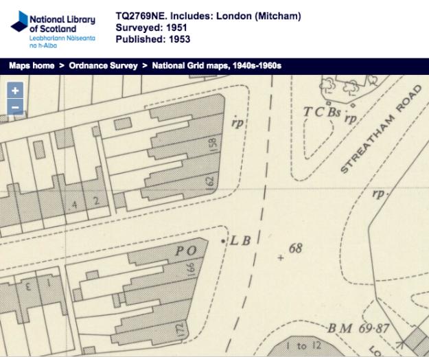 1951 OS Map