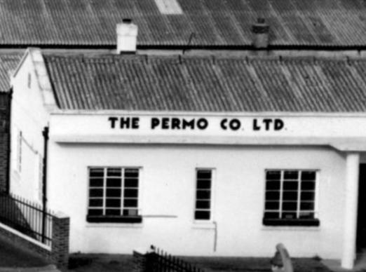 Clip from Merton memories photo 31105 showing company at corner of Batsworth Road and Phipps Bridge Road. Copyright London Borough of Merton.