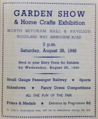 example of event at the hall and grounds
