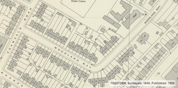 1949 OS map
